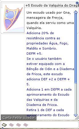+5 Escudo da Valquíria do Dragão