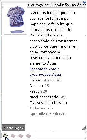 Couraça da Submissão Oceânica da Histeria