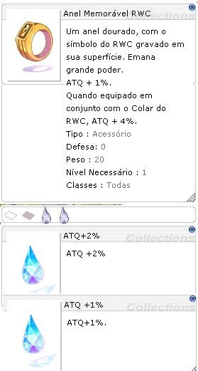 Anel Memorável RWC [1] ATQ 2%/1%