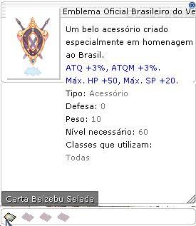 Emblema Oficial Brasileiro do Ventríloquo Selado