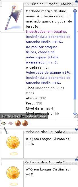 +9 Fúria do Furação Rebelde Mira 3/2