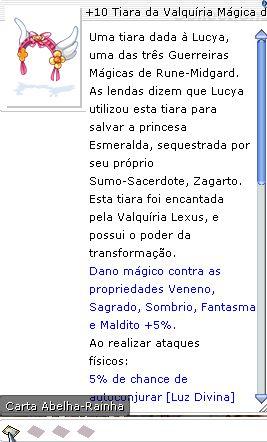 +10 Tiara da Valquíria Mágica de Jóias