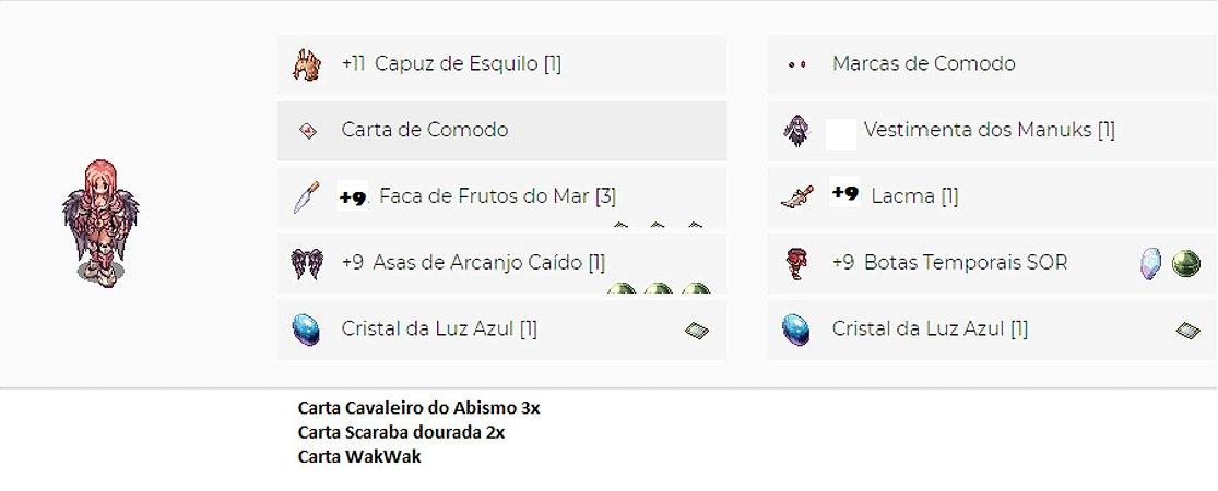 SET Sicário Full Critico ASPD / ADAGAS MVP