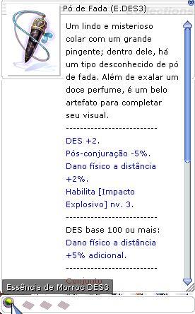 Pó de Fada Essência DES3
