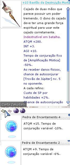 +10 Bastão da Destruição Mortal Encantamento 4/2