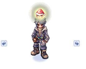 Chapéu do Super Poring Noel