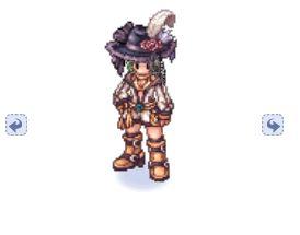 Chapéu de Lady Emplumado