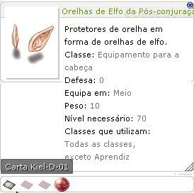Orelhas de Elfo da Pós-conjuração