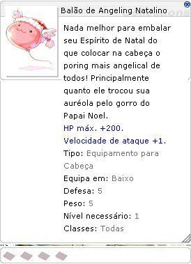 Balão de Angeling Natalino