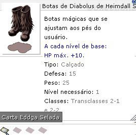 Botas de Diabolus de Heimdall Selada