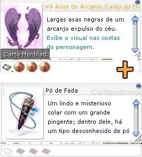 Combo +9 Asas de Arcanjo Caído do Franco Atirador Mira 2/2/1 + Pó de Fada [1]