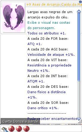 +9 Asas de Arcanjo Cáido da Maldição DES 3/DES 5 / SOR 4