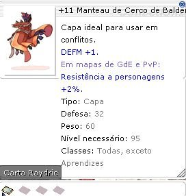 +11 Manteau de Cerco de Balder