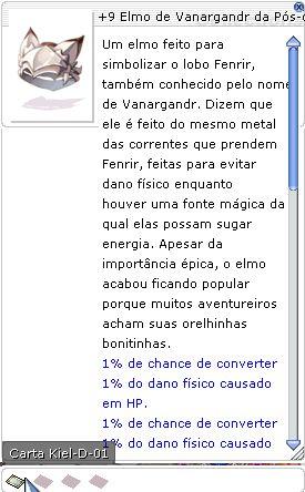 +9 Elmo do Vanargandr da Pós-conjuração