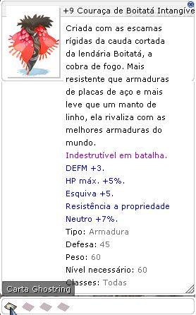 +9 Couraça de Boitatá Intangível