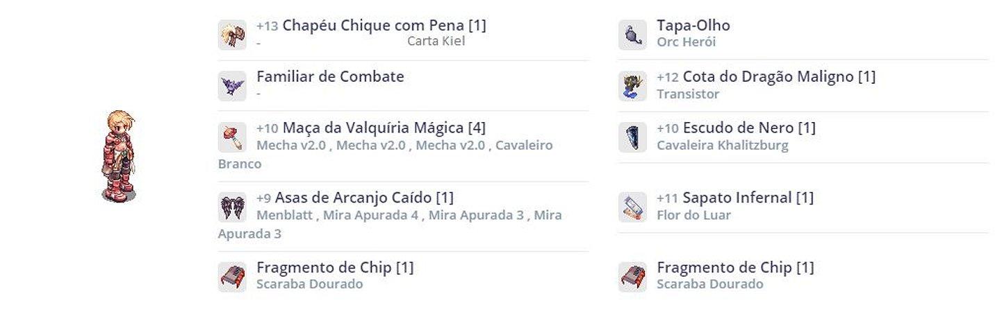 SET Mecânico Canhão MVP PVM / Combo CAVALEIRO / ORC HERÓI