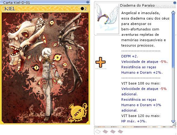 Combo Diadema do Paraíso [1] + KIEL D-01