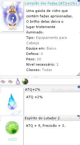 Lampião das Fadas ( ATQ +2% ) ( EL 2 )