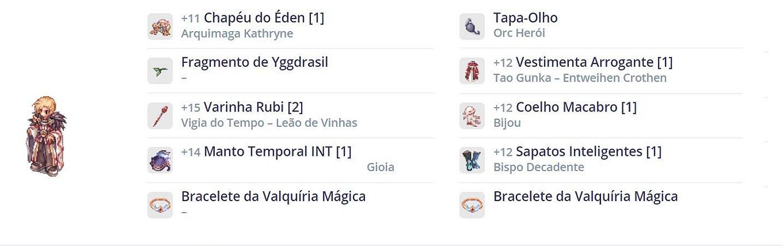 SET Feiticeiro / TOP / GIOIA / BISPO / VIGIA