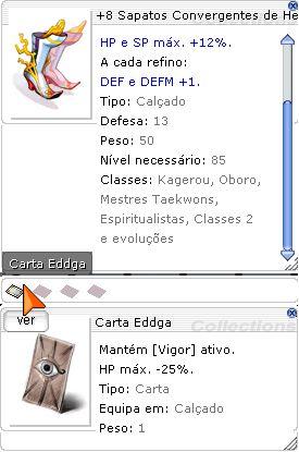 +8 Sapatos Convergentes de Heimdall