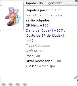 Sapatos do Julgamento