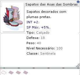 Sapatos das Asas das Sombras [1]