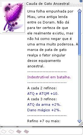 Cauda de Gato Ancestral [2]