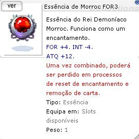 Essência de Morroc FOR3