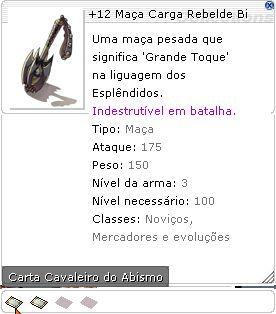 +12 Maça Carga Rebelde Bi