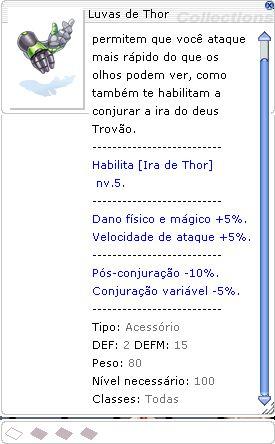 Luvas de Thor [1]