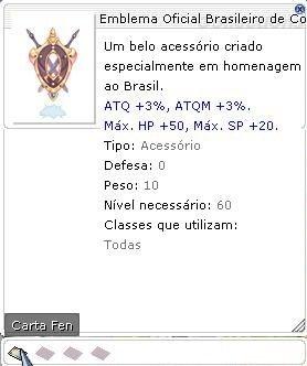 Emblema Oficial Brasileiro de Concentração