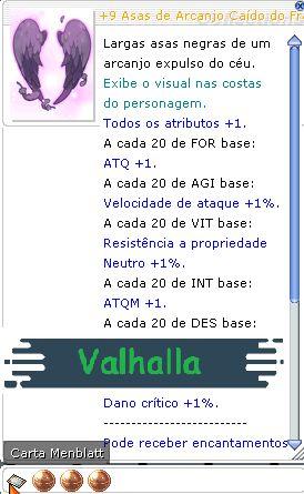 +9 Asas de Arcanjo Caído do Franco Atirador Mira 321