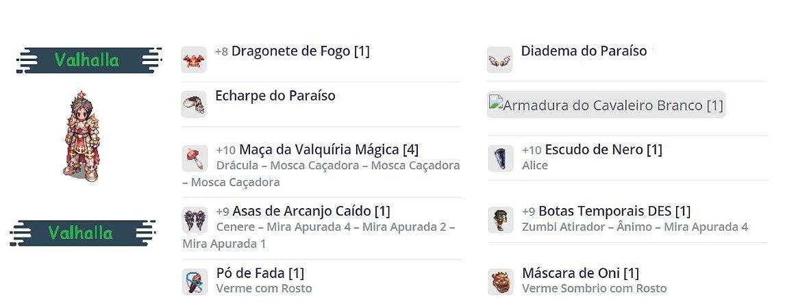 SET Cavaleiro Rúnico   Sopro / Dragonete / Combo Paraíso
