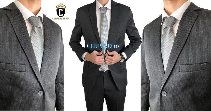 Terno Slim Masculino CHUMBO 10 Microfibra Corte Italiano