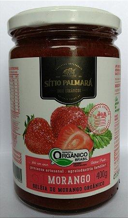 Geleia Artesanal Orgânica de Morango Sítio Palmará 400 g