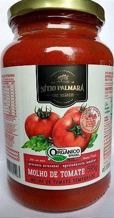 Molho de Tomate Orgânico Sítio Palmará 585 g