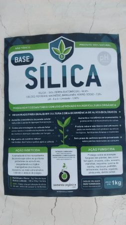 Fungicida Protetor Silício Base Sílica 1 KG + Brinde