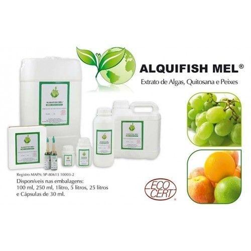 Fertilizante Foliar Alquifish mel 12 Litros Certificado para Cultivo Orgânico + Frete Grátis