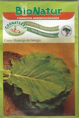 Semente Orgânica De Couve Manteiga Da Geórgia Bionatur 3 gr