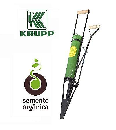 Plantadeira Matraca Manual para Grãos com Ponteira Larga Krupp