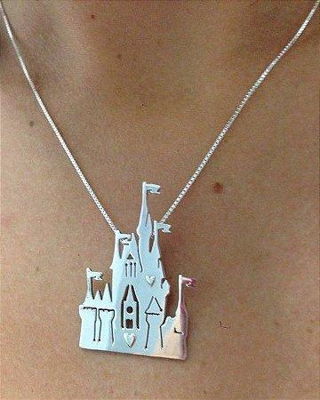 Castelo Disney - Prata 925