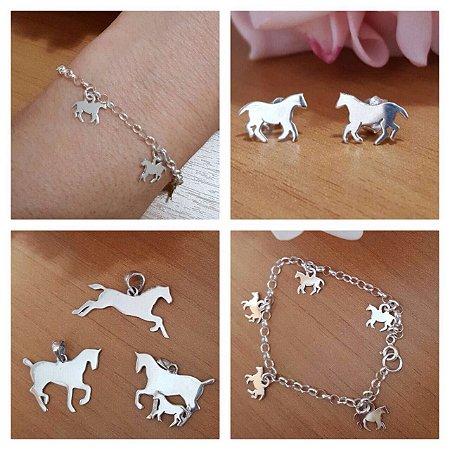 Eu amo Cavalos - Prata 925
