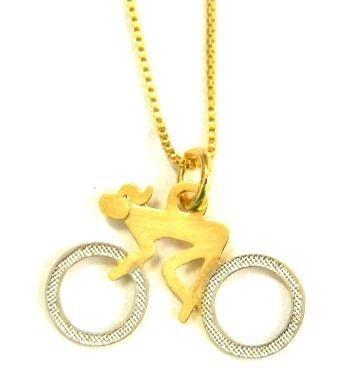Colar Bike Girl
