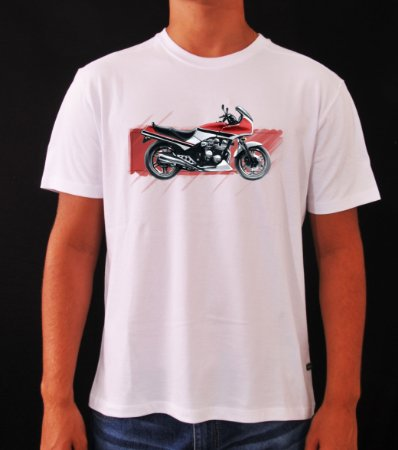 CAMISETA PREMIUM HONDA CBX 750 HOLLYWOOD