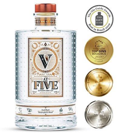 Gin At Five - 750 ml