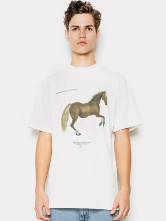Piet Horse Off White