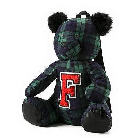Puma Fenty Unisex Mascot Bear Backpack Plaid