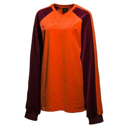 Puma Fenty Men's Velour Oversized V-Neck Pullover