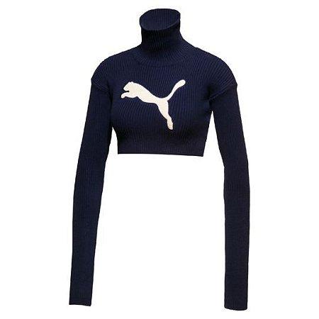 Puma Fenty Women's Longsleeve Loose Turtleneck Sweater