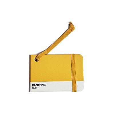 Tag de Mala Cicero + Pantone Amarelo